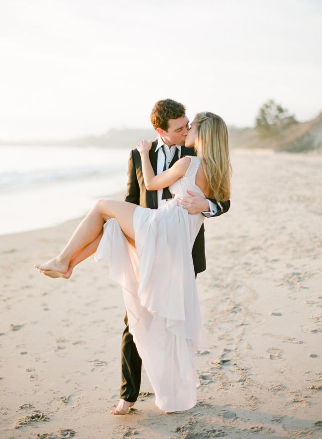 Michelle And Zach Santa Barbara Engagement Lacie Hansen