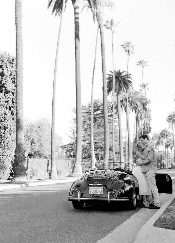 6-beverly-hills-engagement-session-car-6